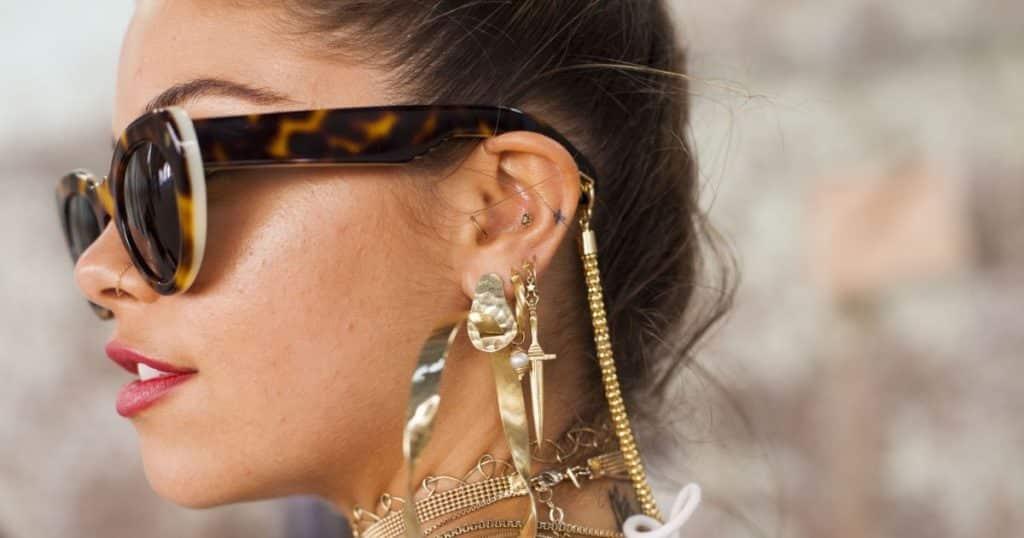 piercing des oreilles